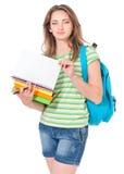 έφηβος σπουδαστών κοριτσιών Στοκ Εικόνα