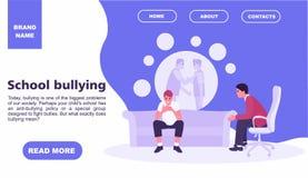 Έφηβος στην υποδοχή ενός ψυχολόγου για τη σχολική φοβέρα εφηβική έννοια Έννοια οικογενειακής ψυχολογίας Ιστοχώρος στοκ φωτογραφία