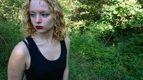 Έφηβος στο Forrest στοκ φωτογραφίες