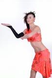 έφηβος χορού δραστηριοτή&ta Στοκ εικόνα με δικαίωμα ελεύθερης χρήσης