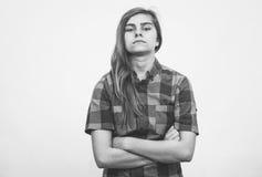 0 έφηβος Στοκ φωτογραφία με δικαίωμα ελεύθερης χρήσης