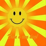 Έχετε μια συμπαθητική ημέρα! Στοκ εικόνα με δικαίωμα ελεύθερης χρήσης