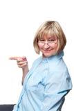έχετε τη γυναίκα ιδέας Στοκ Φωτογραφίες