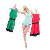 Έχω τα νέα φορέματα Στοκ φωτογραφίες με δικαίωμα ελεύθερης χρήσης