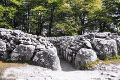 Έδαφος ενταφιασμών τύμβων Clava στοκ φωτογραφία με δικαίωμα ελεύθερης χρήσης