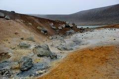 Έδαφος θείου, Ισλανδία Στοκ φωτογραφία με δικαίωμα ελεύθερης χρήσης