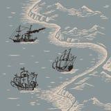 Έδαφος και θάλασσα Στοκ εικόνες με δικαίωμα ελεύθερης χρήσης