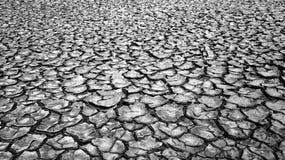 Έδαφος ξηρασίας, αύξηση της θερμοκρασίας λόγω του φαινομένου του θερμοκηπίου παγκόσμια Στοκ Φωτογραφία