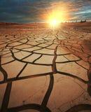 Έδαφος ξηρασίας Στοκ Εικόνες