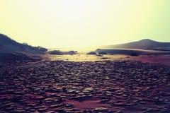 Έδαφος ξηρασίας Στοκ εικόνα με δικαίωμα ελεύθερης χρήσης