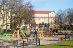 Έδαφος παιχνιδιού Στοκ φωτογραφία με δικαίωμα ελεύθερης χρήσης
