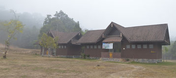 Έδαφος στρατοπέδευσης Lam TA khong στην Ταϊλάνδη Στοκ Εικόνες