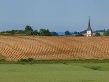 Έδαφος των τομέων που καλλιεργούνται Στοκ Εικόνες