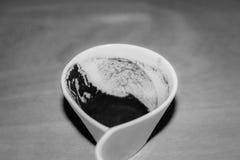 Έδαφος φλιτζανιών του καφέ Στοκ Εικόνες
