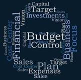 Έλεγχος προϋπολογισμών απεικόνιση αποθεμάτων