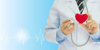 Έλεγχος υγείας καρδιών Στοκ Εικόνες