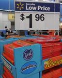 Έλεγχος Walmart Στοκ Φωτογραφία