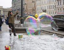 Έλξη για τα παιδιά στην οδό Στοκ φωτογραφία με δικαίωμα ελεύθερης χρήσης