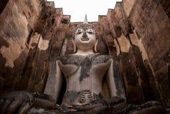 Έλξη στο εθνικό πάρκο Sukhothai, Ταϊλάνδη: Wat Sri Chum Στοκ Εικόνες