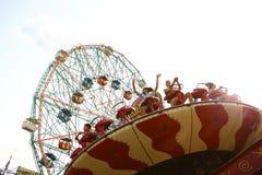 Έλξη στο πάρκο της Luna του Coney Island Νέα Υόρκη Στοκ φωτογραφίες με δικαίωμα ελεύθερης χρήσης