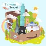Έλξη της Ταϊβάν ελεύθερη απεικόνιση δικαιώματος