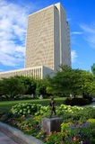 Έδρα εκκλησιών LDS που ενσωματώνει τη Σωλτ Λέικ Σίτυ, Γιούτα Στοκ φωτογραφία με δικαίωμα ελεύθερης χρήσης