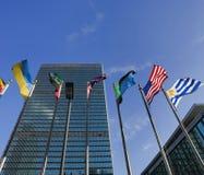 Έδρα Ηνωμένων Εθνών Στοκ Φωτογραφίες