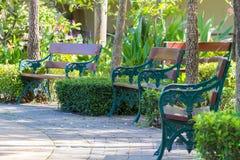 Έδρα κήπων Στοκ φωτογραφία με δικαίωμα ελεύθερης χρήσης