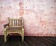 έδρα ξύλινη Στοκ εικόνες με δικαίωμα ελεύθερης χρήσης