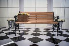 έδρα ξύλινη Στοκ Εικόνα