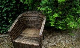 Έδρα στον κήπο Στοκ Φωτογραφία