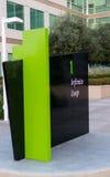 Έδρα της Apple στον άπειρο βρόχο σε Cupertino Στοκ Φωτογραφία