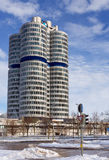 Έδρα της BMW, Μόναχο, Γερμανία Στοκ φωτογραφία με δικαίωμα ελεύθερης χρήσης
