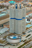 Έδρα της BMW σε Munchen Στοκ εικόνα με δικαίωμα ελεύθερης χρήσης