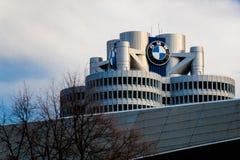 Έδρα της BMW σε Munchen Στοκ Φωτογραφία