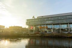 Έδρα τηλεοπτικών καναλιών Arte στο Στρασβούργο Στοκ Εικόνες
