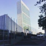 Έδρα των Η.Ε που ενσωματώνει την πόλη της Νέας Υόρκης, Νέα Υόρκη, ΗΠΑ Στοκ φωτογραφία με δικαίωμα ελεύθερης χρήσης