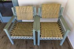έδρες κενά δύο Στοκ Φωτογραφία
