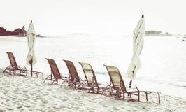 Έδρες παραλιών στον ωκεανό στο Μεξικό Στοκ φωτογραφία με δικαίωμα ελεύθερης χρήσης