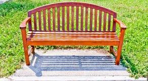έδρες που γίνονται ξύλινες Στοκ Φωτογραφία