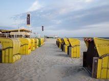 Έδρες στην παραλία Στοκ Εικόνα