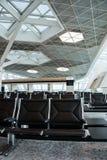 Έδρες στην περιοχή σαλονιών αερολιμένων Στοκ φωτογραφία με δικαίωμα ελεύθερης χρήσης