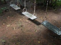 Έδρες ταλάντευσης που εγκαταλείπονται Στοκ Εικόνα