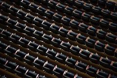 Έδρες του σταδίου Μπορέστε να χρησιμοποιηθείτε ως ανασκόπηση Στοκ Εικόνες