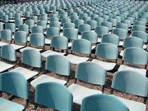 έδρες υπαίθριες Στοκ εικόνα με δικαίωμα ελεύθερης χρήσης