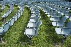 έδρες υπαίθριες Στοκ Φωτογραφίες