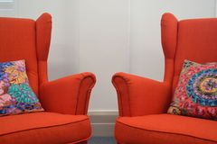 έδρες δύο Στοκ Εικόνα