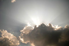 ήλιος ακτίνων Στοκ φωτογραφία με δικαίωμα ελεύθερης χρήσης