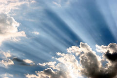 ήλιος ακτίνων Στοκ Εικόνες