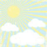 ήλιος ανασκόπησης Στοκ φωτογραφίες με δικαίωμα ελεύθερης χρήσης